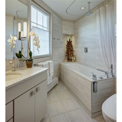 Bathroom Design Nj by His And Hers Modern Small Bathrooms In Port Liberte Nj By