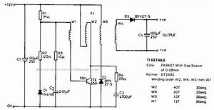 Simple Portable Nicad Battery Charger Circuit Diagram