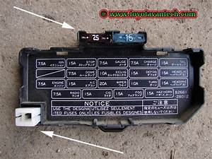 89 Toyota Pickup Fuse Box