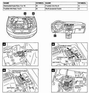 Mitsubishi Lancer Fuse Box Diagram