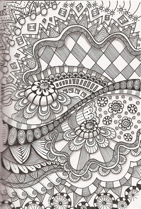 tangle    zentangle drawings doodle art