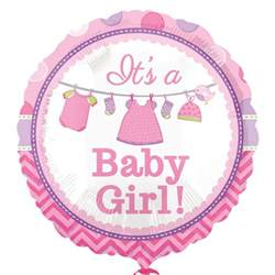batman congratulations card it s a baby girl 18 foil balloon party direct
