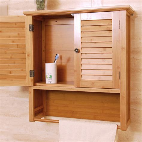 modern bathroom wall cabinet china bamboo modern wall mounted storage cabinet for