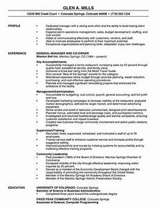 14  Manager Resume Templates