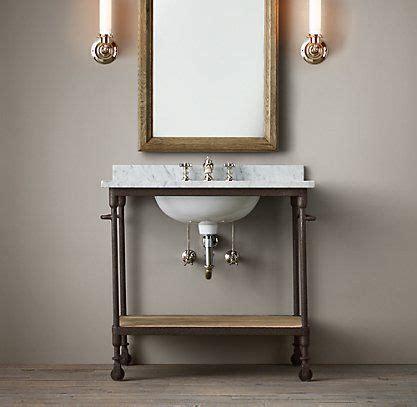 bathroom sink holand 233 s industrial bath collection rust rh Industrial