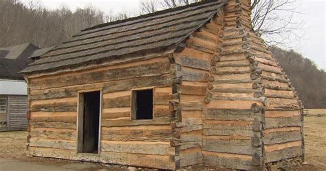 lincoln log cabin did abraham lincoln sleep here cbs news