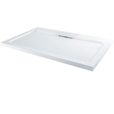 Shower Tray 1700 X 800 - elusive 1700 x 800 rectangular shower tray