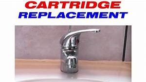 How to replace the cartridge in a mixer tap youtube for How to change a washer on a bathroom mixer tap