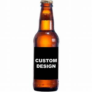 upload your own design custom beer bottle labels With create your own beer label