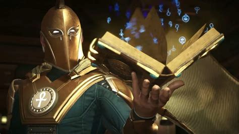 doctor fate reveal trailer  injustice