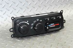 Dodge Ram 1500 2500 3500 A  C Ac Heater Heat Control Head