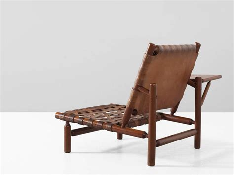 chaise tapiovaara ilmari tapiovaara leather lounge chair and ottoman for sale at 1stdibs