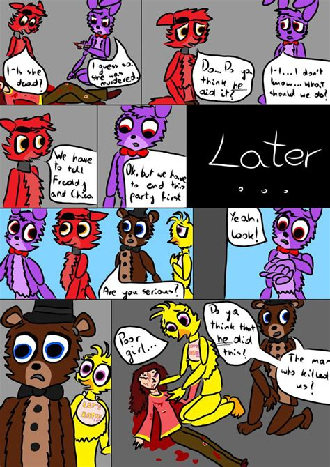 (old Page) Fnaf Comic  New Animatronic  Page 4 By
