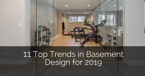 11 Top Trends in Basement Design for 2019   Home