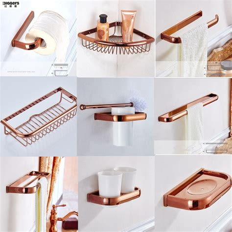 Modern Copper Bathroom Accessories by Free Shipping Biggers Luxury Gold Copper Bathroom