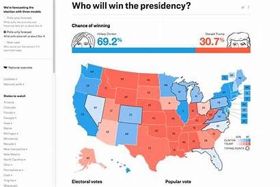 Election Results Map Fivethirtyeight Predictions Trends Digitaltrends