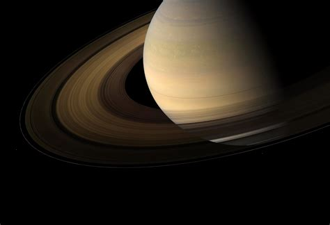 Research Reveals Rain Shadows from Saturn's Rings
