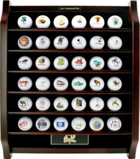 golf ball display cabinets australia 63 golf ball designer display case cabinet holder wall
