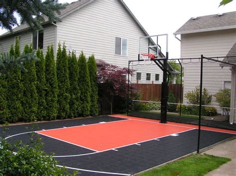 How Much Does A Backyard Basketball Court Cost by 25 Best Ideas About Backyard Basketball Court On
