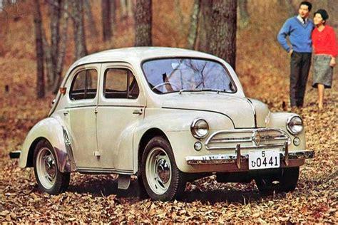 renault japan 4cv hino renault japan 1946 1961 my dad owned one of