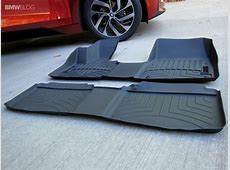 WeatherTech Floor Mats in a BMW i3