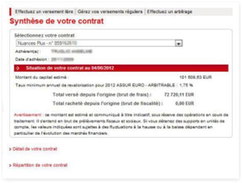 Deblocage Assurance Vie by Vos Contrats D Assurance Vie Sur Caisse D Epargne
