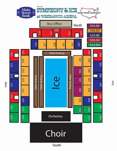 Seating Chart Symphony Capitol Wheeling Ice Orchestra