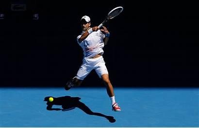 Djokovic Tennis Novak Smash Wallpapers Open Australian