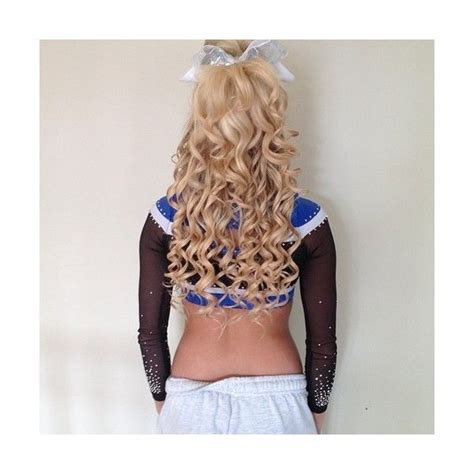 Cheer Hair | Cheer hair, Cheerleading hairstyles, Game day ...