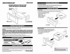scosche gm1524b volunteer audio With scosche amp wiring kit installation