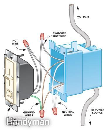 how to install a ceiling fan box how to install dimmer switches the family handyman