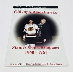 Hockey History Yearbooks Chicago Blackhawks Stanley Cup