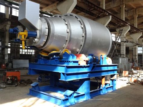 tilting rotary furnace  lead acid battery recycling