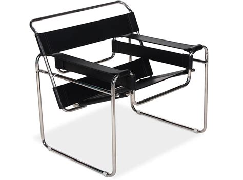 wassily chair by marcel breuer platinum replica