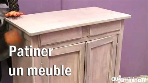 retaper armoire de cuisine patiner un meuble tutoriel vidéo comment patiner un