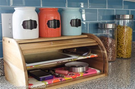 easy kitchen storage ideas homegoods bread box