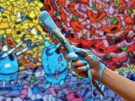 cat cat terbaik  lukisan dinding  seni lukis mural