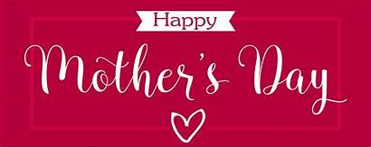Mother Happy Mothers Banner Text Calligraphy Elegant