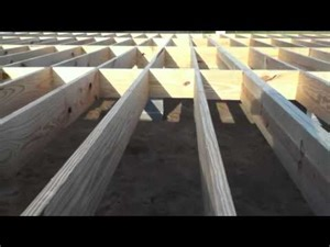 how to build a floor for a house building a house floor and walls