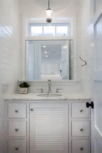 Bathroom with Beadboard Walls