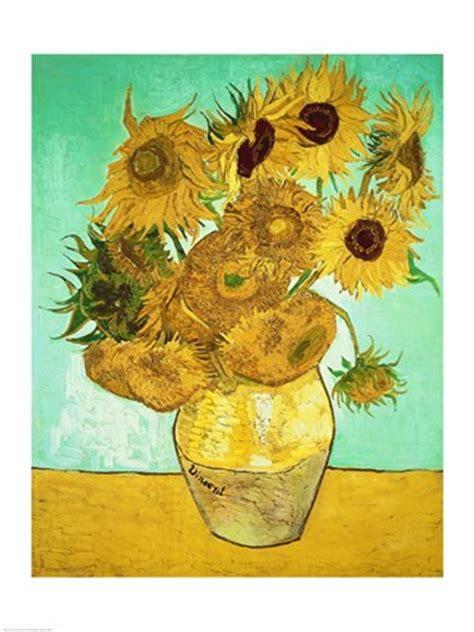 sunflowers  fine art print  vincent van gogh