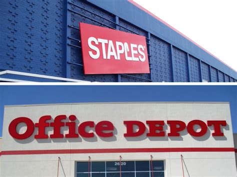 Office Depot Staples by Staples Inc Nasdaq Spls Office Depot Inc Nyse Odp