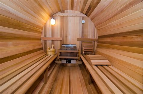 Sauna : Almost Heaven Barrel Sauna Special