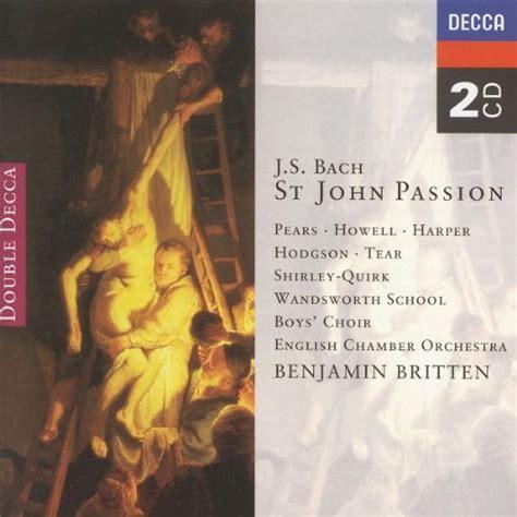 benjamin britten english chamber orchestra bach
