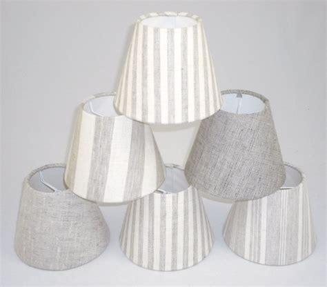 white linen l shade candle lshades handmade in uk linen fabric ebay
