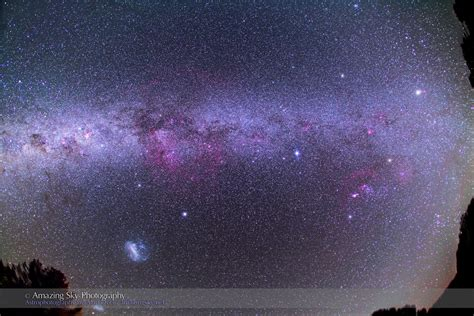 The Milky Way From Down Under Amazing Sky