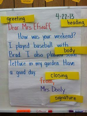 ideas  friendly letter  pinterest letter