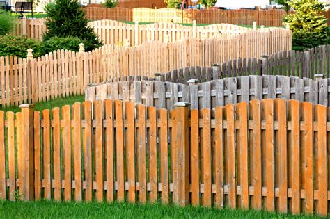 A List Of The Different Types Of Fences