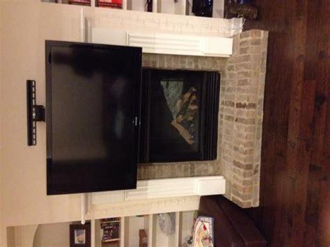 wall mounting tv  fireplace doityourselfcom