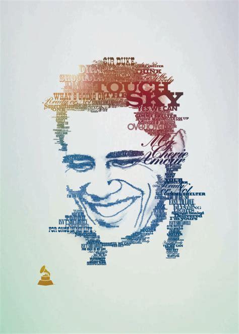 45 amazing type faces typographic portraits